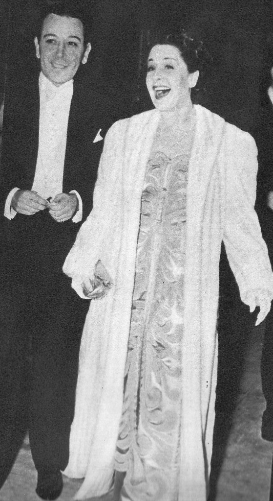George Raft, Norma Shearer
