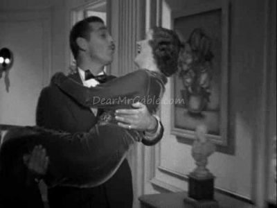 Myrna is carried away by Clark in Wife vs. Secretary