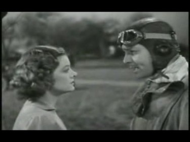 Clark & Myrna square off in Test Pilot