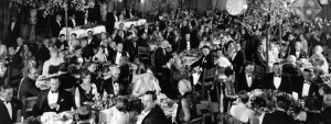 The First Academy Awards in the Blossom Ballroom in 1929