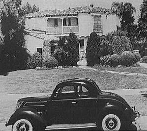 Jean Harlow's N. Palm Dr home