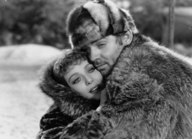 Clark Gable and Loretta Young