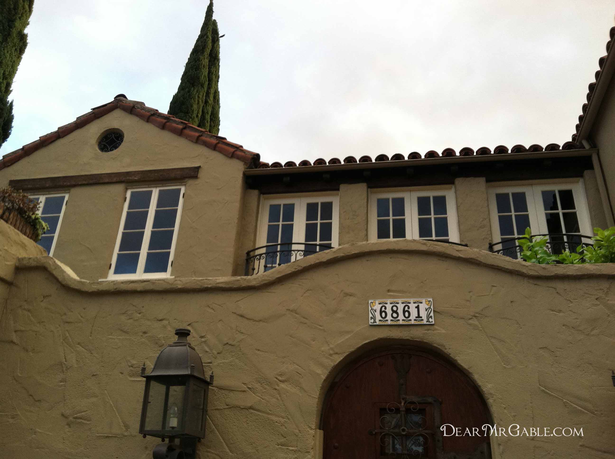 hollywood} carole lombard lived here – dear mr. gable