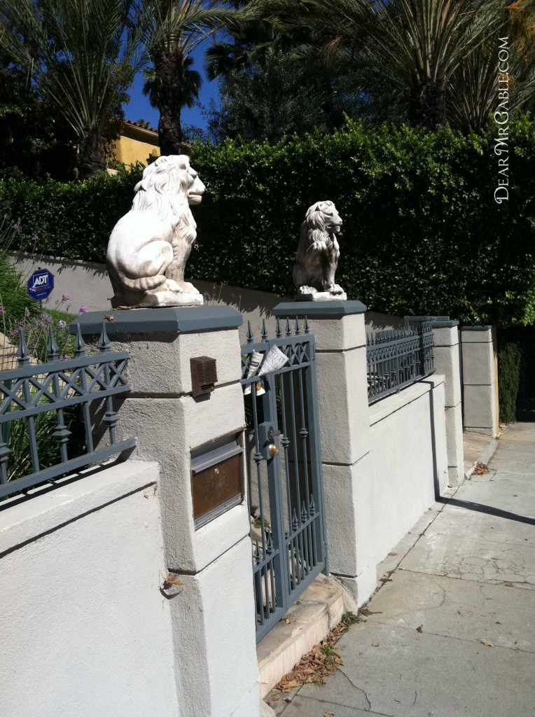 Carole Lombard's house on Hollywood Blvd