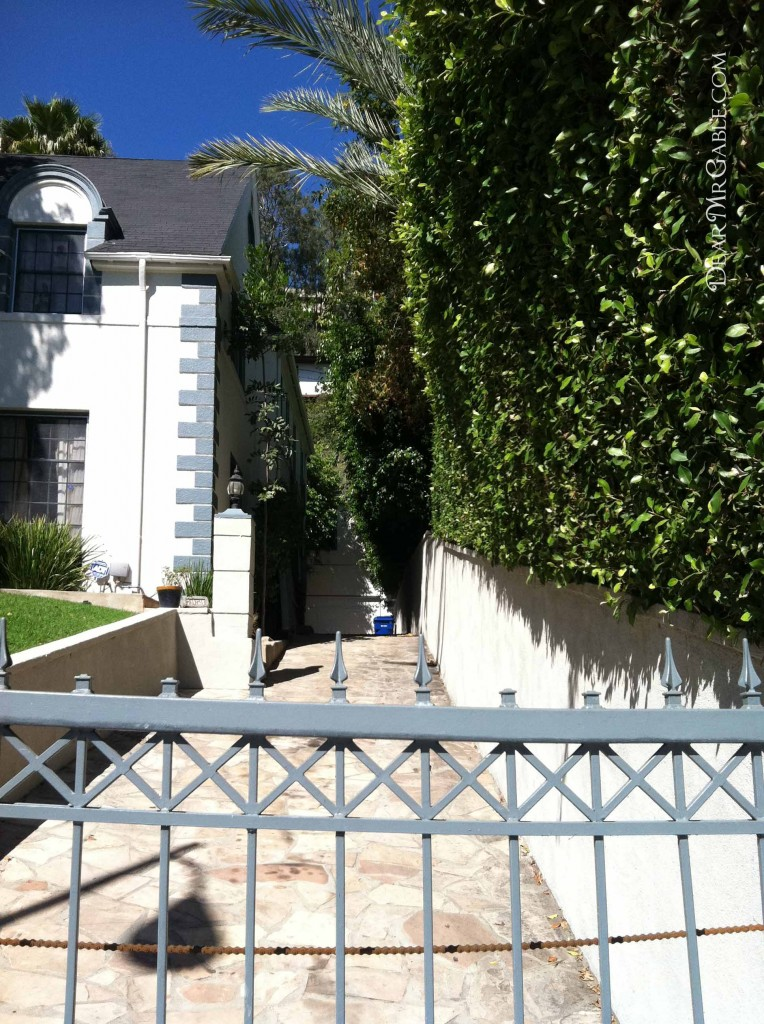 Carole Lombard's home on Hollywood Boulevard