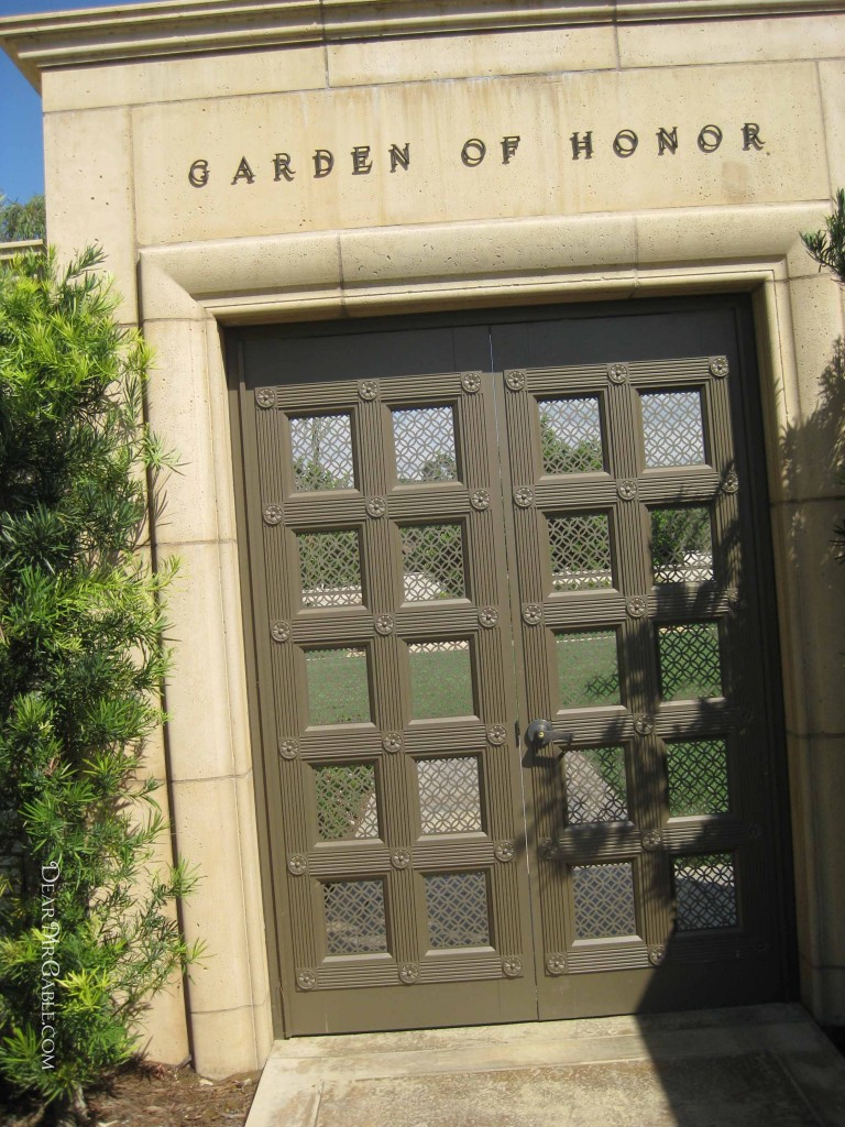 Forest Lawn Glendale Garden of Honor