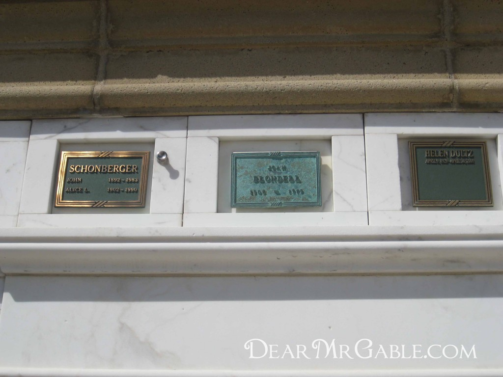 Forest Lawn Glendale Joan Blondell