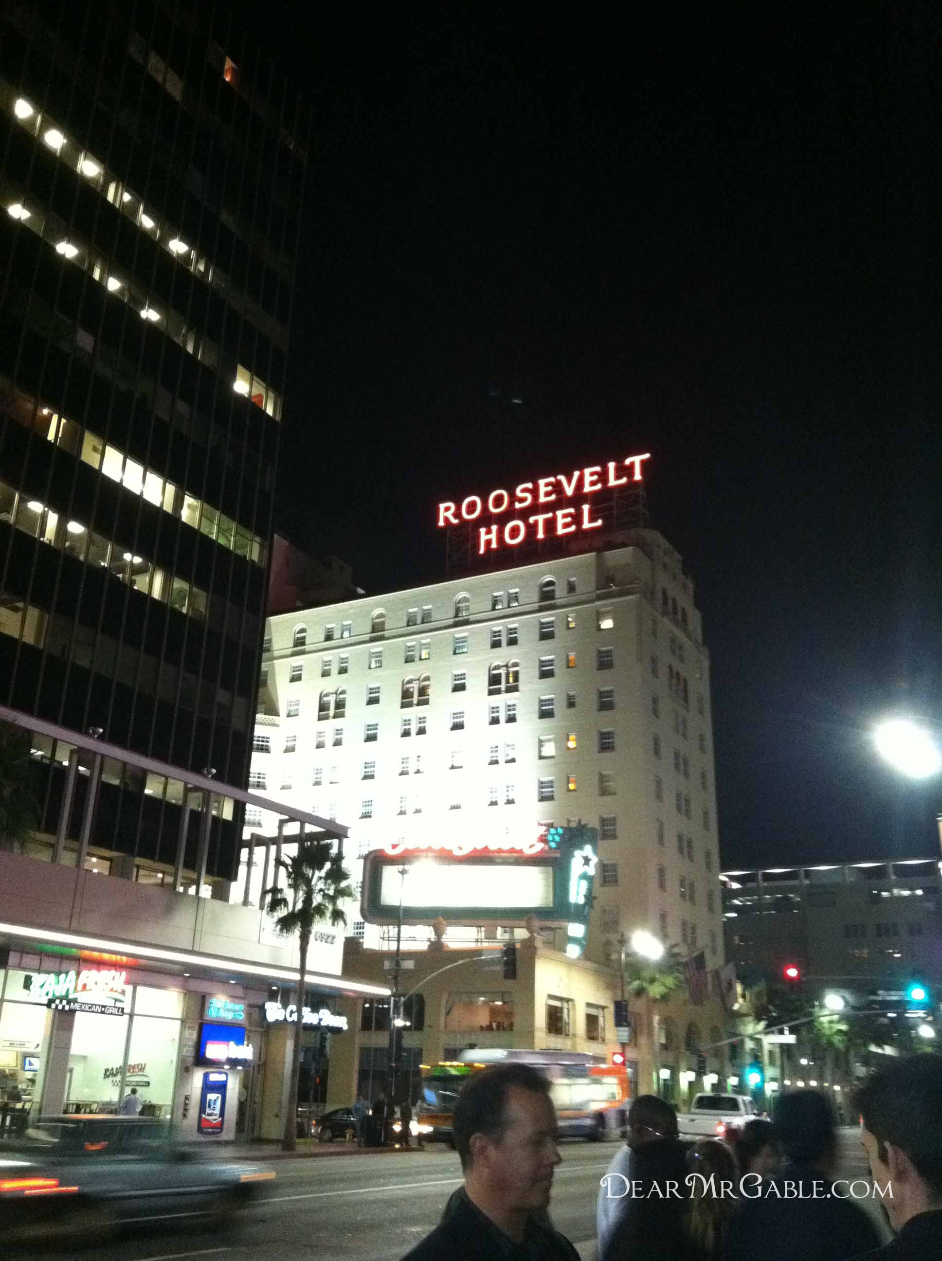 {Hollywood} The Roosevelt Hotel