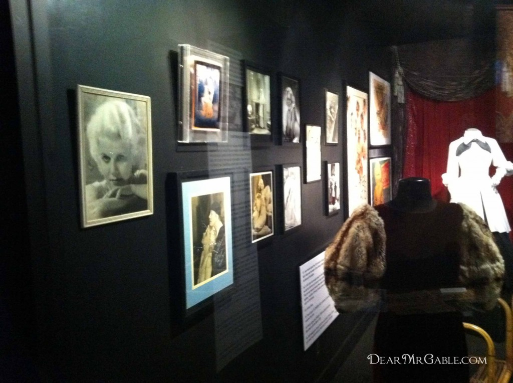 Hollywood Museum Jean Harlow exhibit
