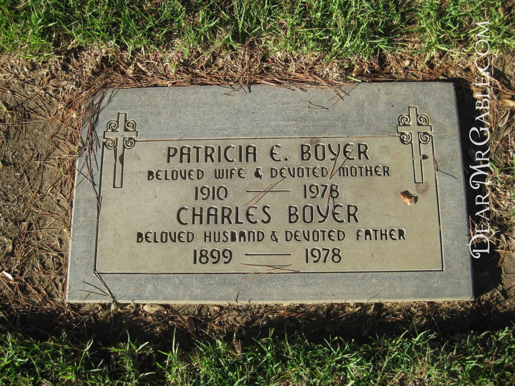 Holy Cross Cemetery Charles Boyer