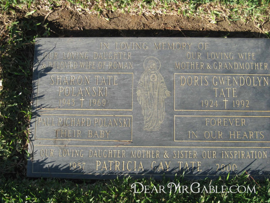 Holy Cross Cemetery Sharon Tate