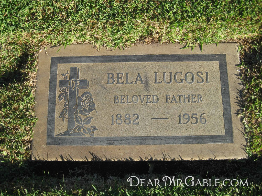 Holy Cross Cemetery Bela Lugosi
