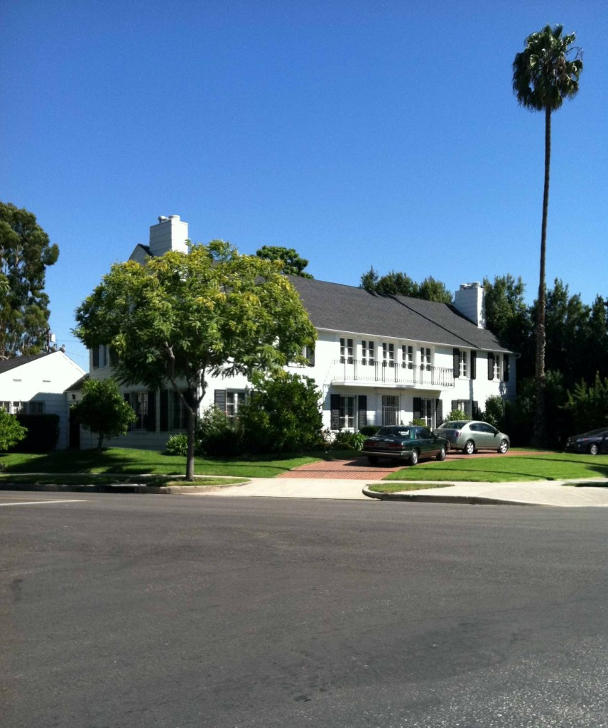 Lana Turner's Bedford Dr house