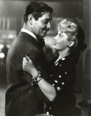 Clark Gable and Joan Blondell
