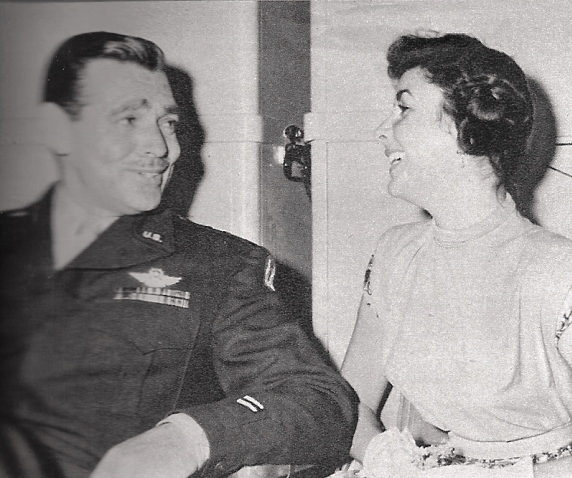 Clark Gable and Elizabeth Taylor