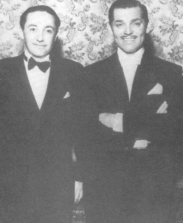 Irving Thalberg and Clark Gable