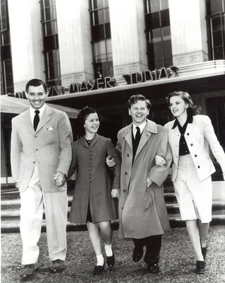 Clark Gable Shirley Temple Mickey Rooney Judy Garland