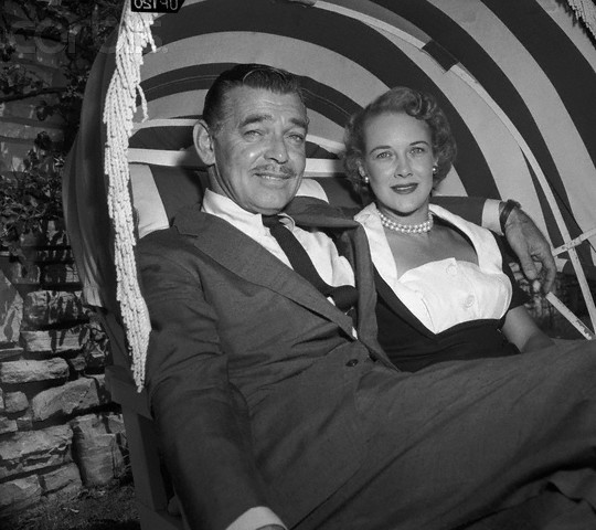 Clark Gable and Kay Williams