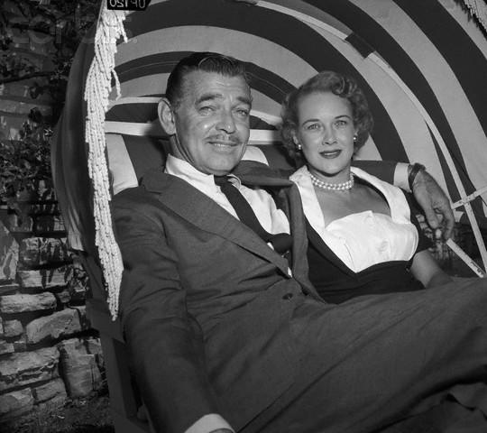 Clark Gable and Kay Williams