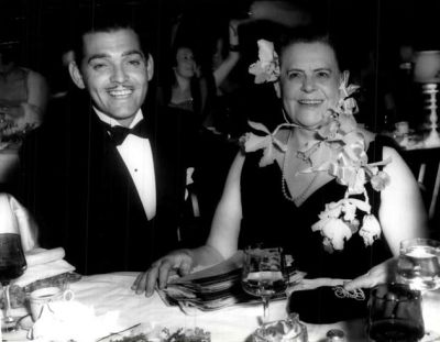 Clark Gable and Marie Dressler