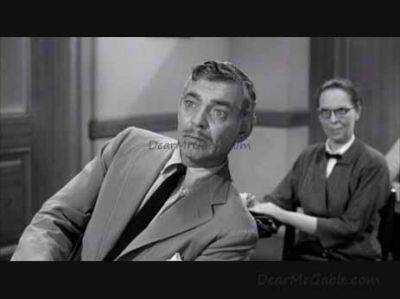 Clark Gable Teacher's Pet
