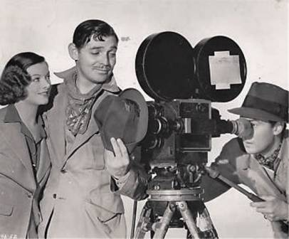 Clark Gable Myrna Loy Walter Pidgeon Too Hot to Handle