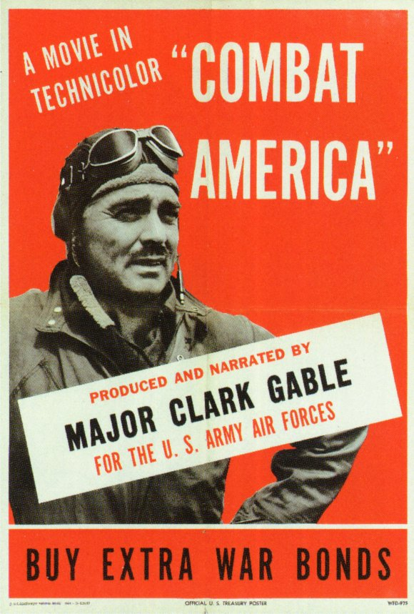 Clark Gable Army poster