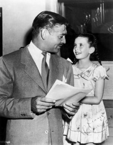 clark gable margaret o'brien