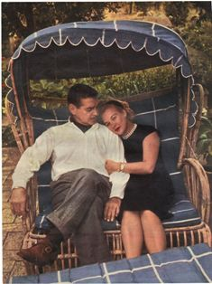 Clark and Kay Gable