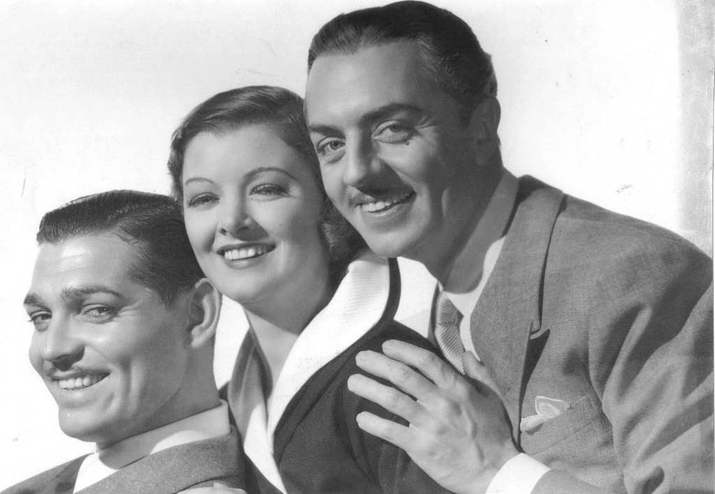 clark gable myrna loy william powell