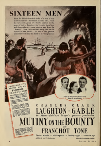 clark gable charles laughton franchot tone mutiny on the bounty