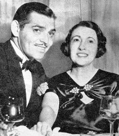 Clark gable and Ria Franklin