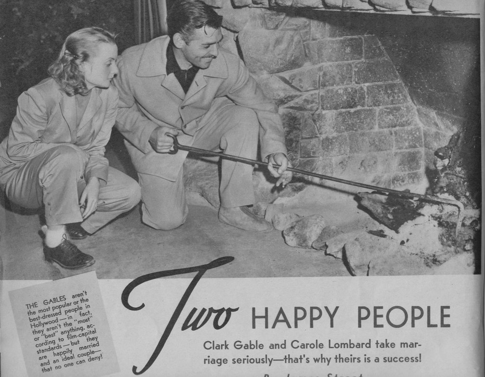 1940: two happy people part 4 – dear mr. gable