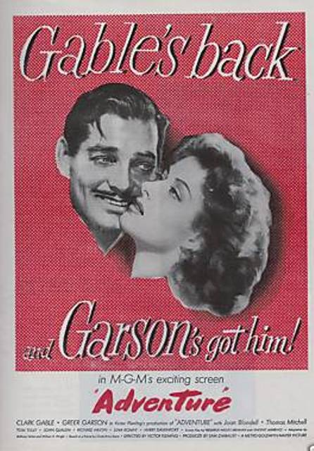 May Movie Of The Month Adventure 1945 Dear Mr Gable
