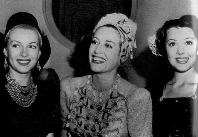 lana turner ann rutherford joan crawford