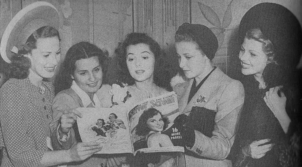 maureen o'hara ann rutherforf laraine day brenda marshall