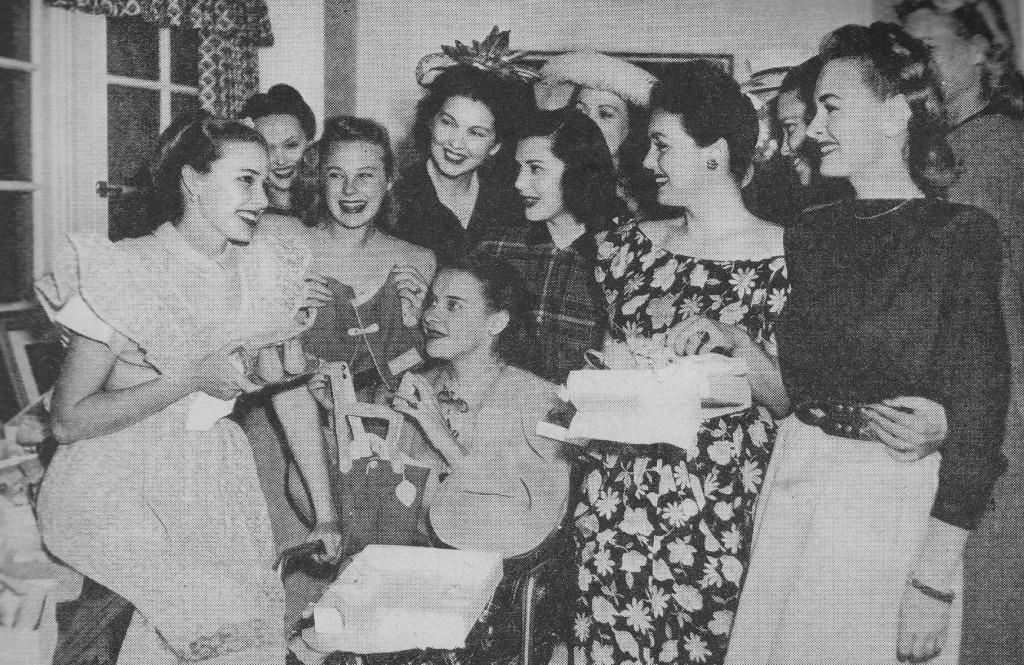 ann rutherford susan peters laraine day june allyson donna reed