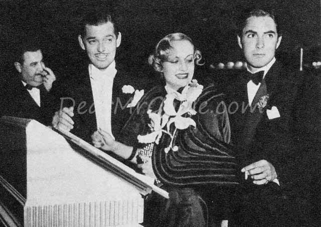 clark gable carole lombard tyrone power
