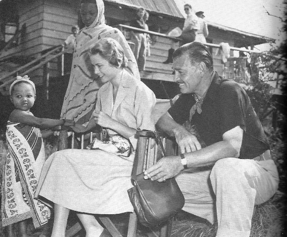 clark gable grace kelly mogambo
