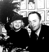 Jean Harlow and William Powell at the Brown Derby