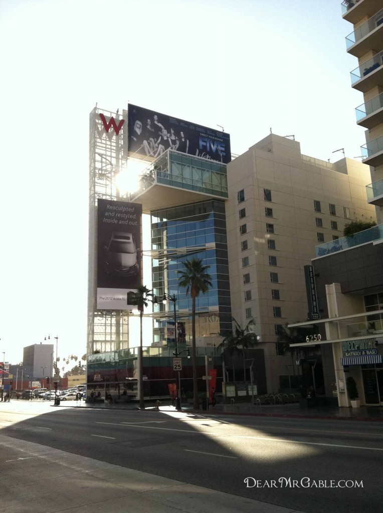 w hotel hollywood blvd brown derby