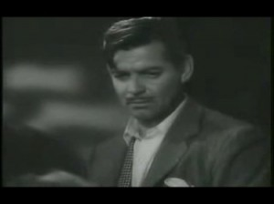 clark gable somewhere i'll find you