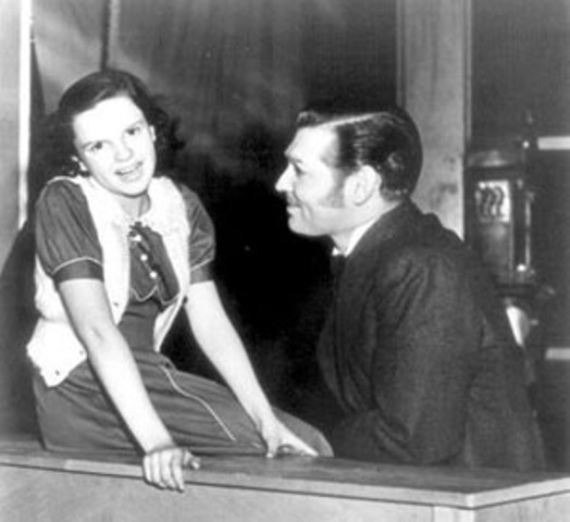 clark gable judy garland