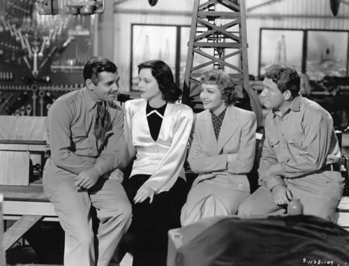 clark gable hedy lamarr claudette colbert spencer tracy boom town
