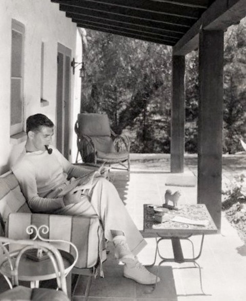 Clark Gable, in Pictures: Candid Images of the Actors Life