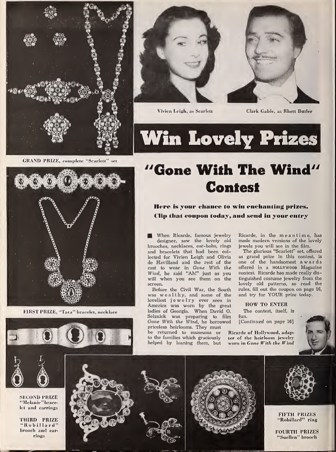 gone with the wind jewelry