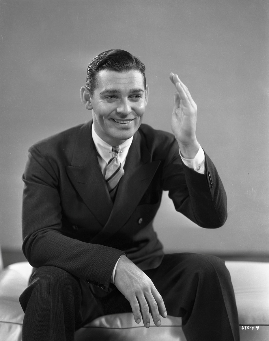 clark gable moustache