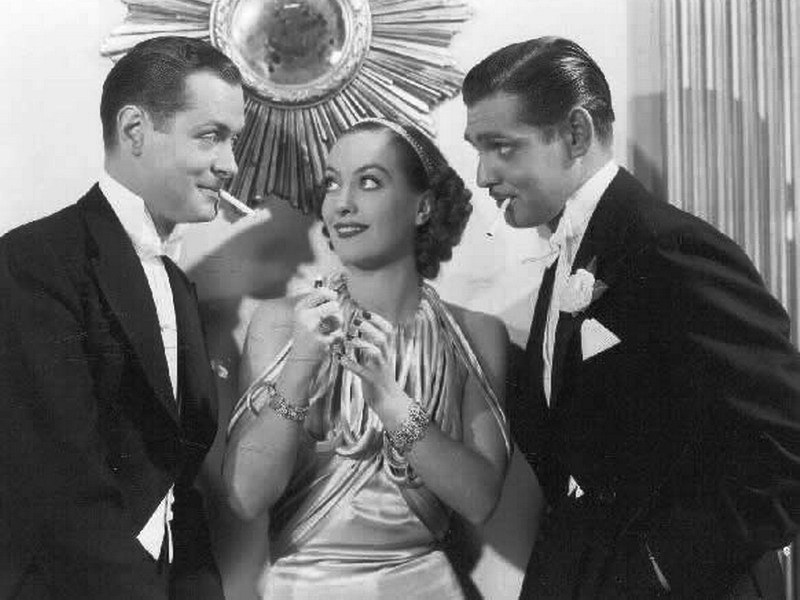 clark gable joan crawford robert montgomery