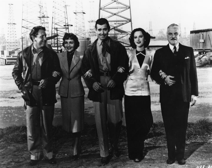 boom town clark gable claudette colbert hedy lamar spencer tracy frank morgan