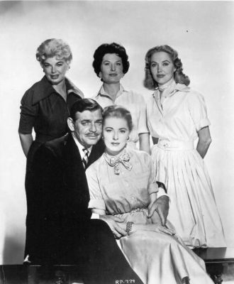 clark gable the king and four queens